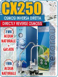 Depuratori Acqua CX250 Osmosi Inversa Diretta 90/102 lt/h