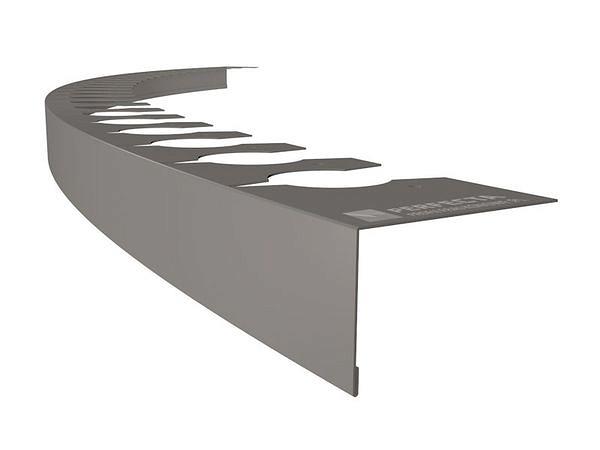 Profil balkonowy okapnikowy łukowy z możliwością gięcia