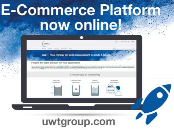 New e-commerce platform of UWT products