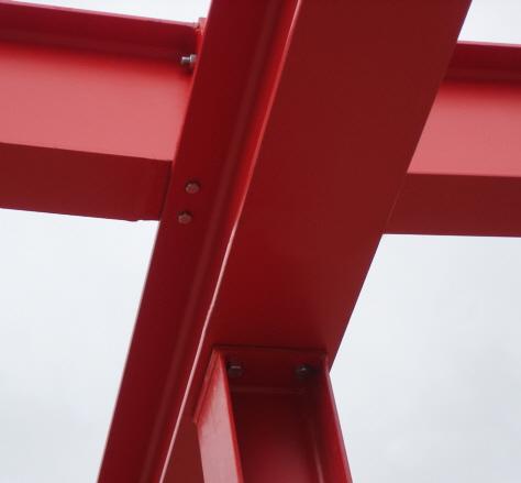 Stahlhallenkonstruktionen nach Kundenwunsch gefertigt