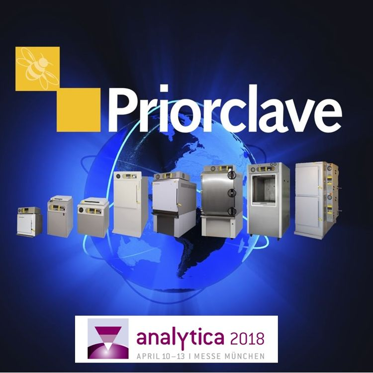PRIORCLAVE at ANALYTICA 2018