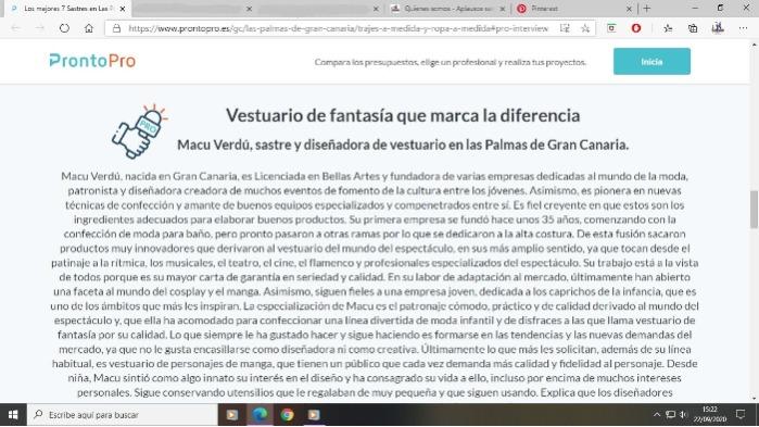Entrevista a Macu Verdú