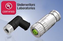 UL approval for CONEC circular connectors, field attachable