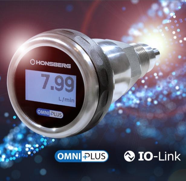 Thermischer Strömungssensor OMNIPLUS-F: Schnell, zuverlässig