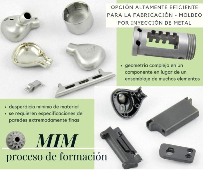 Eurobalt®: soluciones de moldeado por inyección de metal