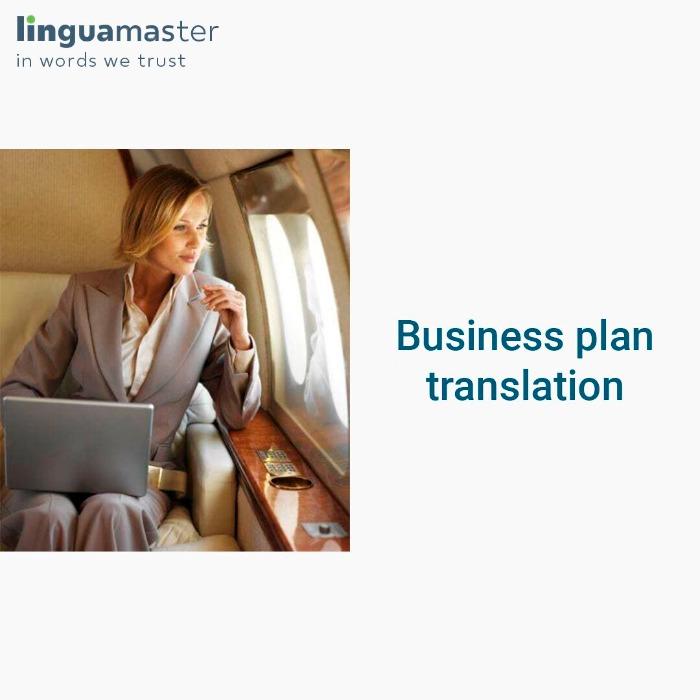 Business plan translation
