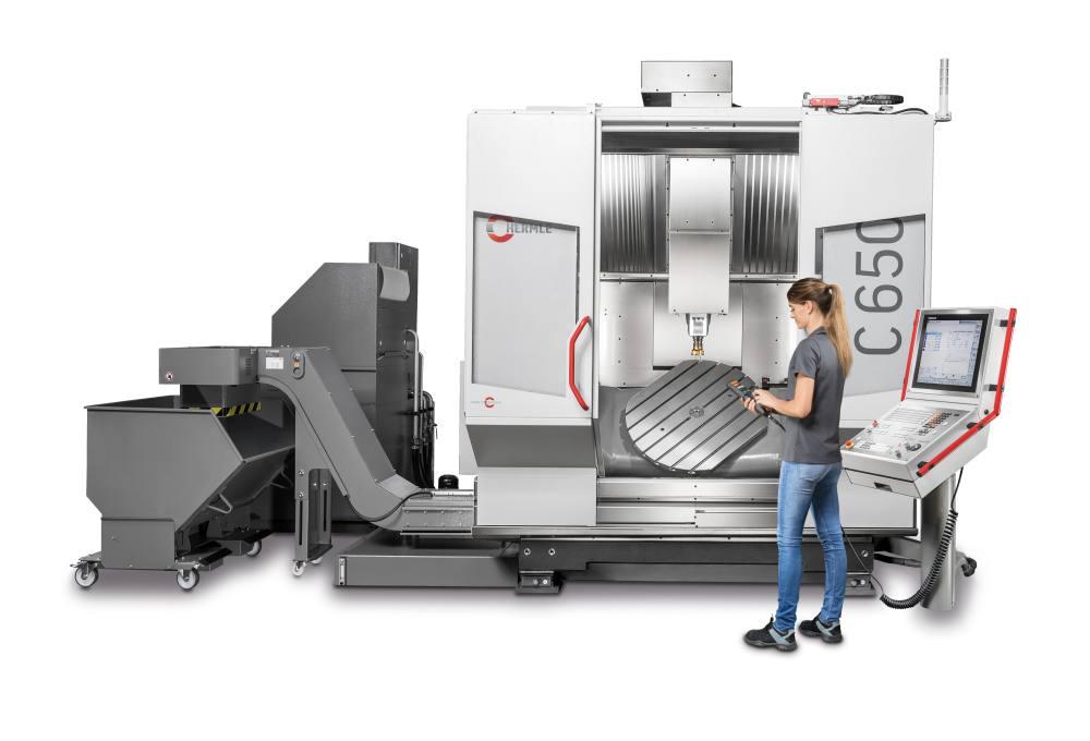 新机型及大量数字化模块在 EMO 汉诺威机床展 Hermle 展位上亮相