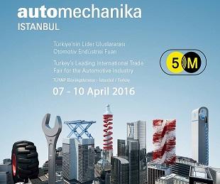 Authomechanika İstanbul 2016 Fair
