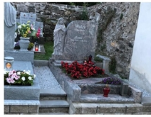 Good feedback of angel headstone from Austrian customer