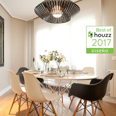 Sube Interiorismo recibe premio Best of Houzz 2017