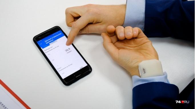 A new development - a smart bracelet