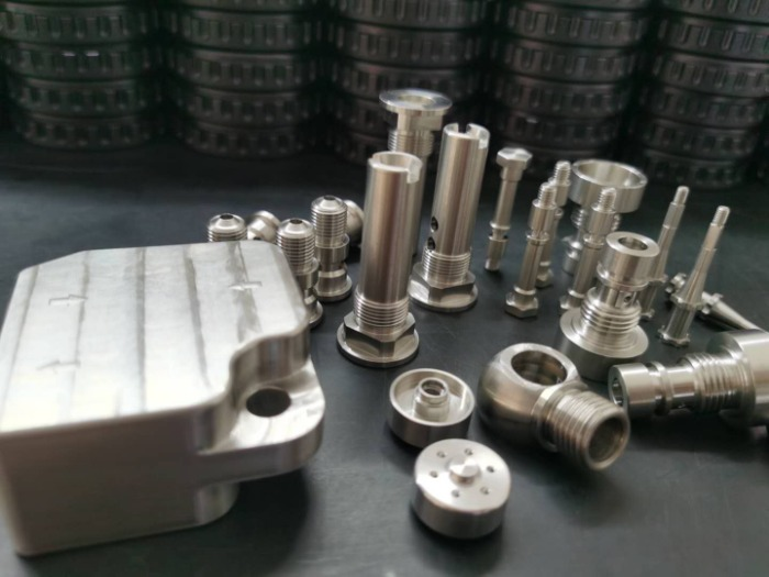 custom metal part for diving equipment