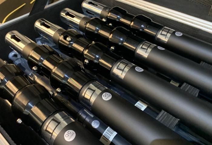 Ampliamos 200mts de pipeanddrape color negro en alquiler.
