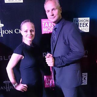 LELA LANC и DOM LE MAIRE на Fashion Show в PTAK FASHION CITY