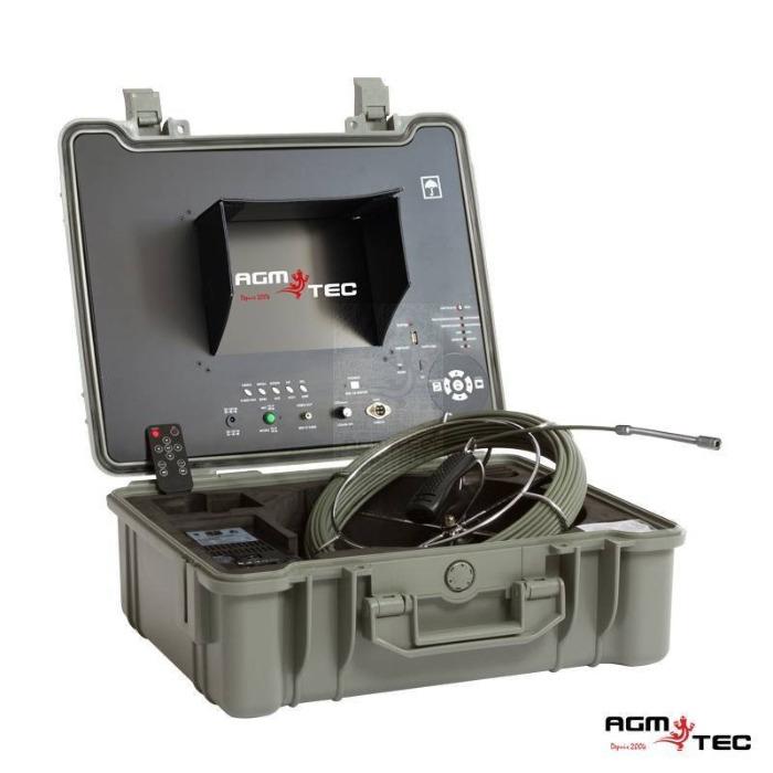 inspection vidéo canalisations avec une caméra télévisée