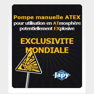 Pompe manuelle ATEX