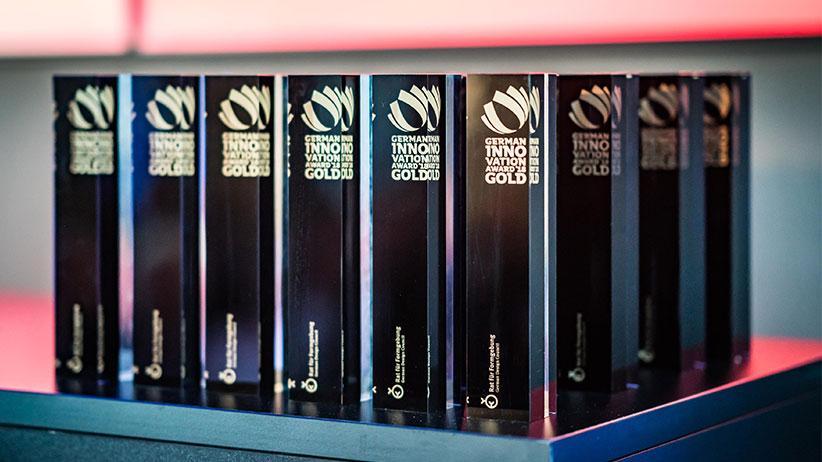 Flottweg mit German Innovation Award in Gold ausgezeichnet