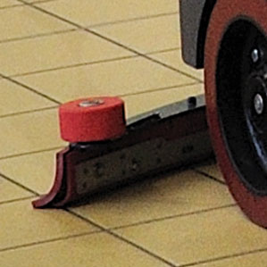 NEW DESIGN SQUEEGEE BLADE FOR THE E110 SCRUBBER-DRYER