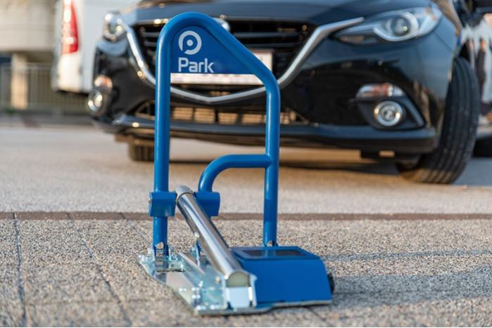 Cepo guarda plazas de parking