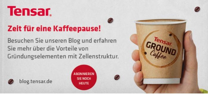 Zeit für eine Kaffeepause!