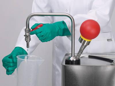 Bombas para disolventes para desinfectantes