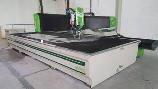 waterjet cnc instalation 2500mm x 6000 mm