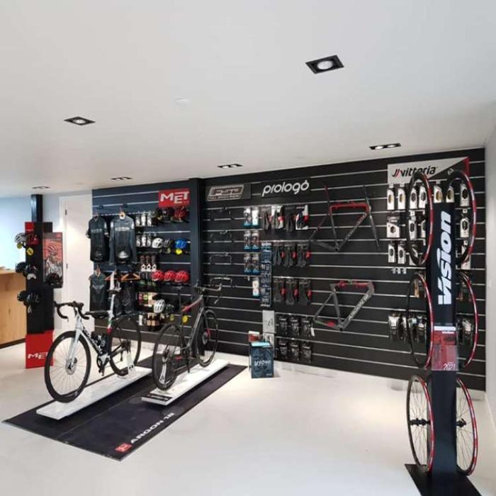 Aménagement magasin vélo
