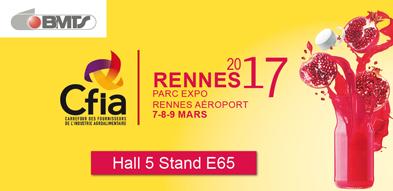BMTS participe au salon CFIA Rennes 2017