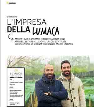 Lumaca Italia, porta alto in nome dell' Abruzzo, articolo Ab