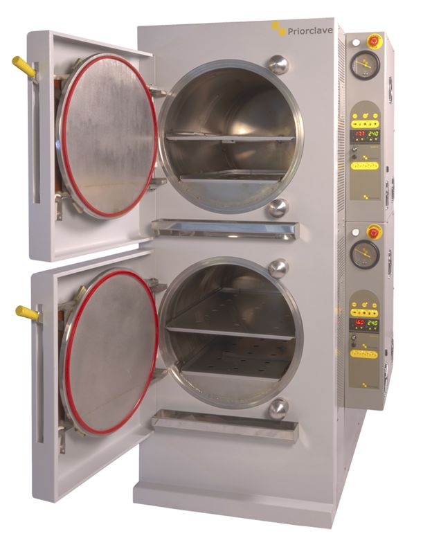 Stackable Autoclaves from Priorclave
