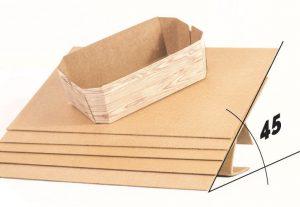 Nuevo separador antideslizante de cartón ondulado