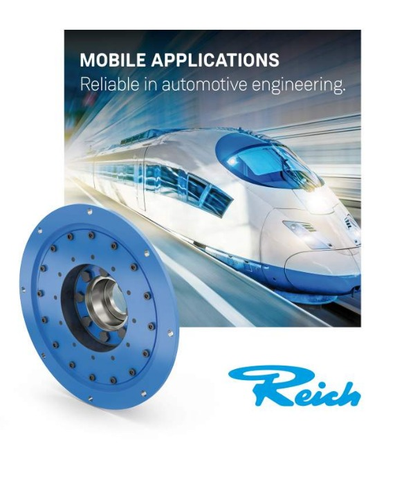 REICH supplies certified elastomers to the railway industry
