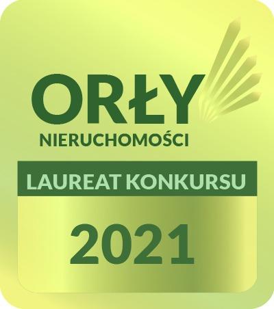 Jesteśmy laureatem konkursu Złote Orły Nieruchomości 2021