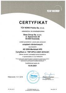Nowa certyfikacja!