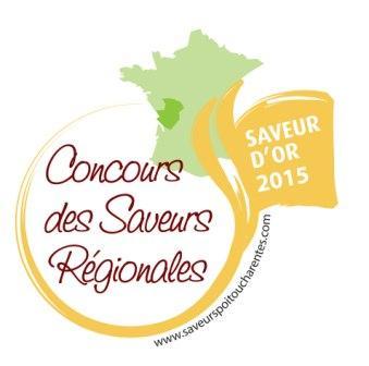 notre tourteau SAVEUR D'OR au concours régional des saveurs