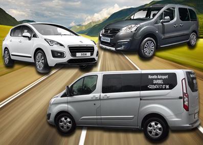 Nouveau véhicule 7 places pour transport de groupes