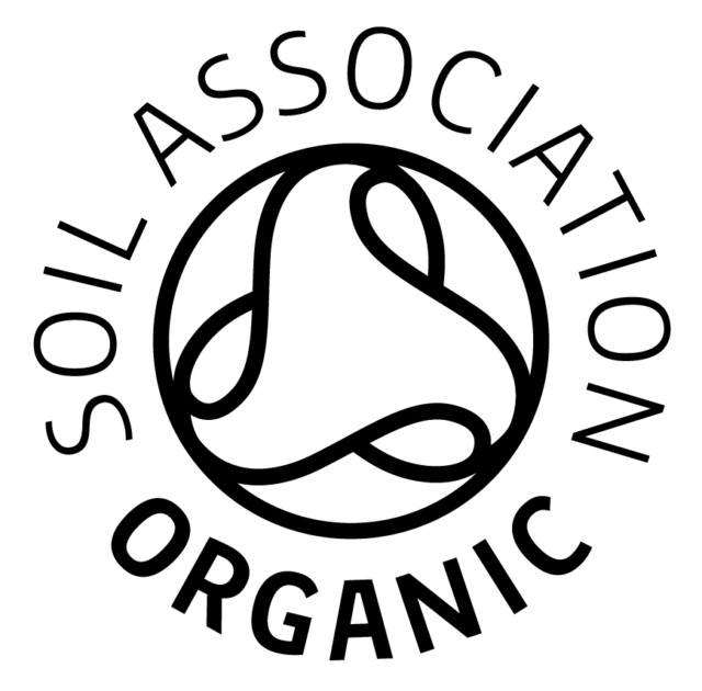 Organic approved by the Soil Association