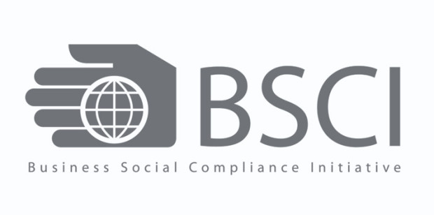 BSCI Certificate for Sustainable production