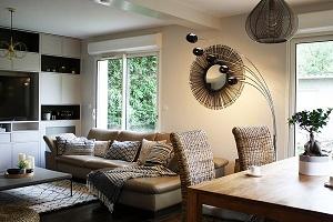 Conception d'espaces Ethnic chic dans une maison, Versailles