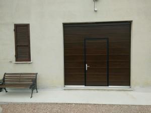 Installazione porta sezionale