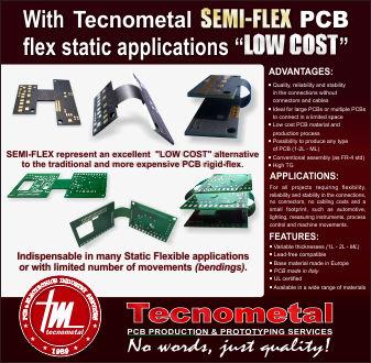 Tecnometal SEMI FLEX PCB