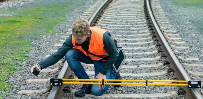 NEXTSENSE präsentiert Messmodul zu Schienengeometrie-Messung