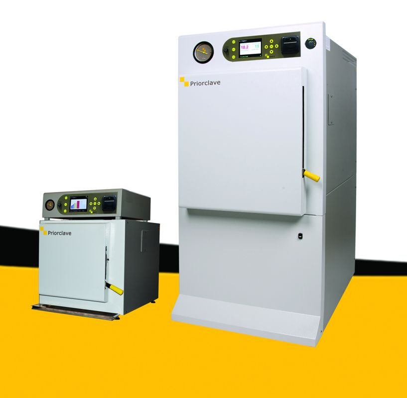 Priorclave Launches New Autoclave Controller