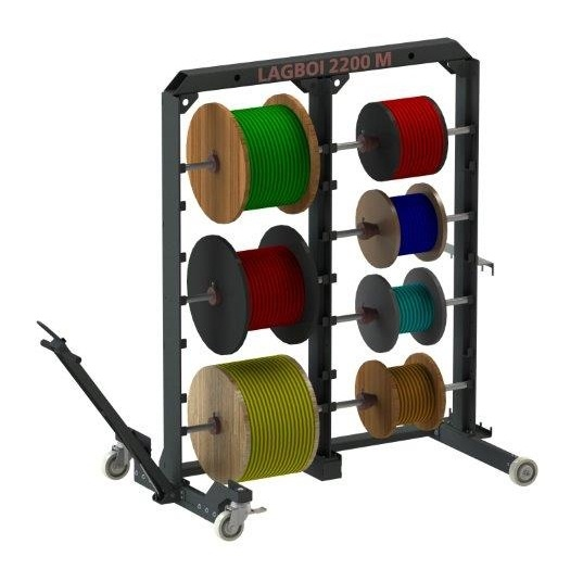 Strong helpers - LAGBOI cable drum rack