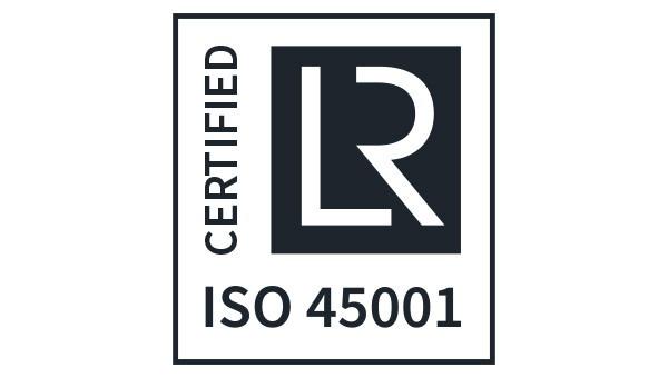 Flottweg przebiega zgodnie z normą ISO 45001