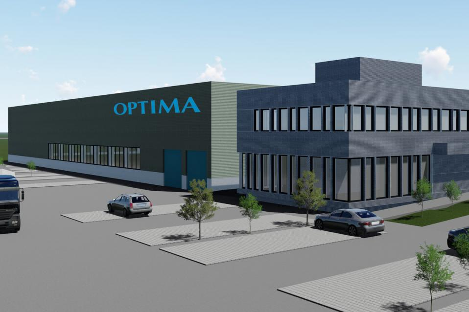 OPTIMA 2022 – Start of New Logistics Center Building