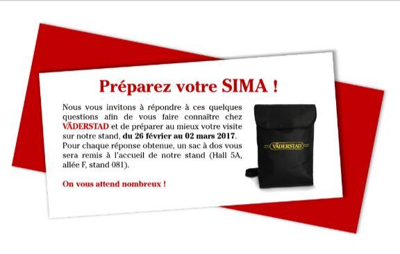 VADERSTAD FRANCE expose au SIMA