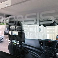 First Iveco Protective Vehicle Partitions Fitted