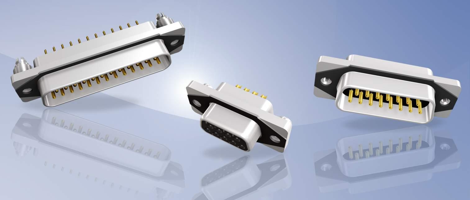 IP67 D-SUB CONEC SlimCon Filter Steckverbinder