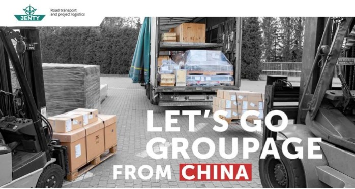 Consolidated shipments from China
